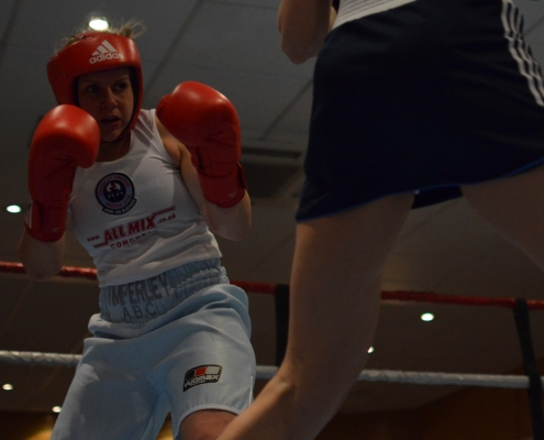 Charlotte Gilley boxing