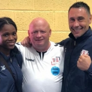 Mick Driscoll with Caroline Dubois