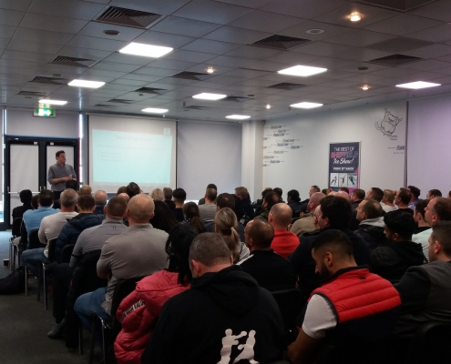 England Youth Talent Squad induction