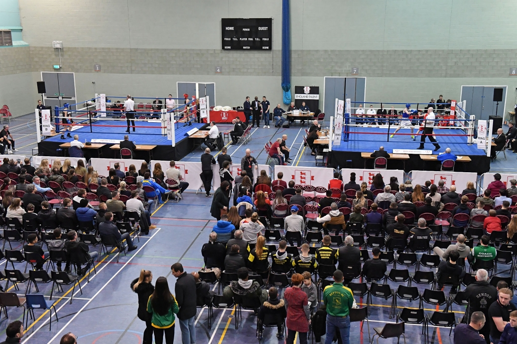 crowd shot from afar at Youth Championships 2019